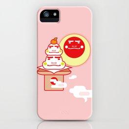 Boushoku's Kagami Mochi iPhone Case
