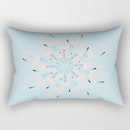 dancing with swans Rectangular Pillow
