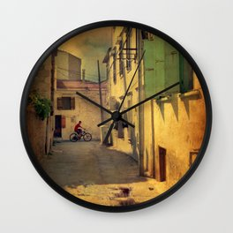Sunday Morning Wall Clock