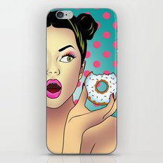 sweet portrait iPhone & iPod Skin