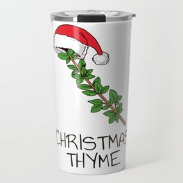 Cute Christmas Thyme Herb and Spice Holiday Gift Shirt Travel Mug