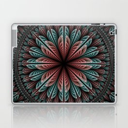 Fantasy flower and petals IV Laptop & iPad Skin
