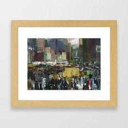 New York - George Bellows Framed Art Print