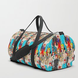 Heroes Doodle Square Duffle Bag