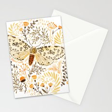 Giant Leopard Moth Stationery Cards