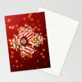 Jolly Ghost Shell Stationery Cards