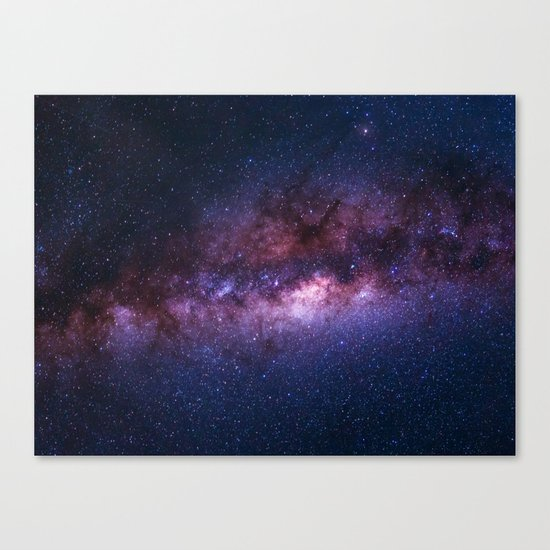 Milky Way Canvas Print