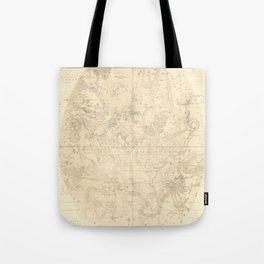 Burritt's Constellations (July, August, September) (1856) Tote Bag
