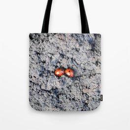 Lady and Gentleman Bug Tote Bag