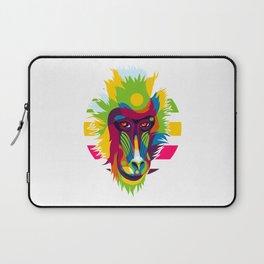 Baboon Head Laptop Sleeve