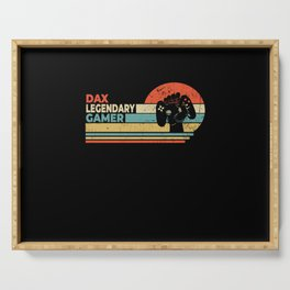 Dax Legendary Gamer Personalized Gift Serving Tray