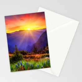 Sun Smile Stationery Cards