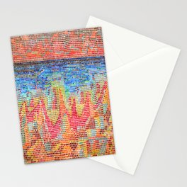 Paul Klee Cliffs by the Sea Stationery Cards