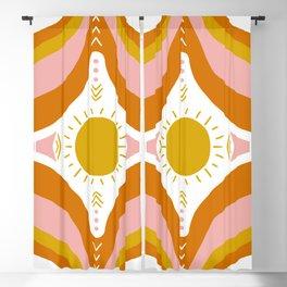 sunshine mandala Blackout Curtain