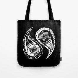 Ying Yang - Fox Nerd Tote Bag