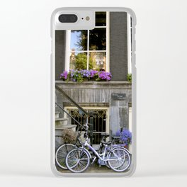 Shades of Purple in Amsterdam Clear iPhone Case
