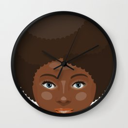 Booth Babe Wall Clock