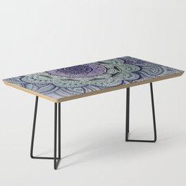 Mandala Violet Coffee Table