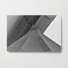 Column Metal Print