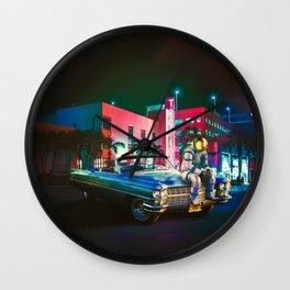 The Night Rider Wall Clock