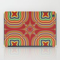 kaleidoscope iPad Cases featuring Kaleidoscope by David Zydd