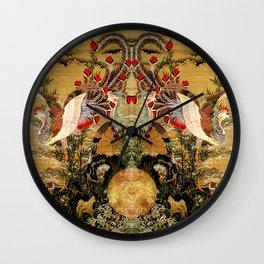 Oriental Birds (Jakutu Ito-Sun) Wall Clock