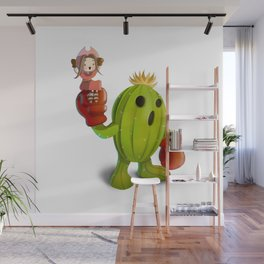 Mimi and Palmon Wall Mural