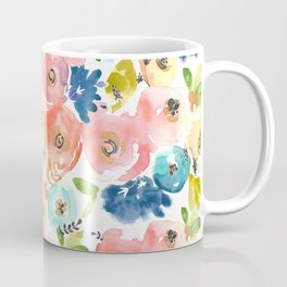 Floral POP #1 Coffee Mug