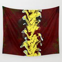 flash Wall Tapestries featuring Flash by Red Gauntlet