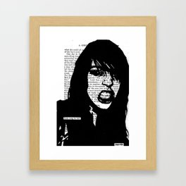 From Song to War Framed Art Print