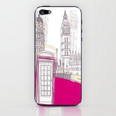 Lovely London II iPhone & iPod Skin