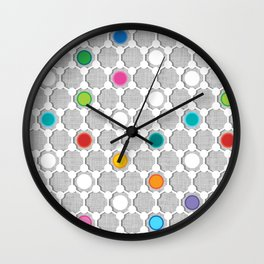 Graphene Urban Wall Clock