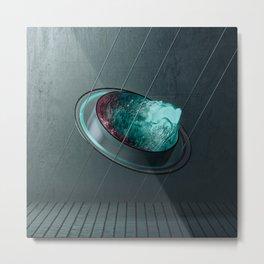 Circle Water Metal Print
