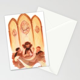 Harry, Hermione, Ron Stationery Cards
