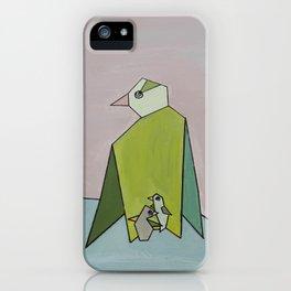 Pastel Penguin iPhone Case