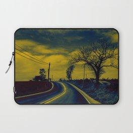 Rural road Laptop Sleeve
