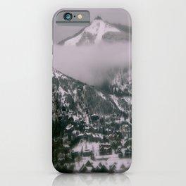 Foggy Blanket iPhone Case