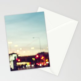 Stockholm Bokeh Stationery Cards