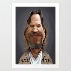 Jeff Bridges Art Print
