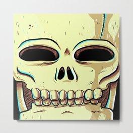 Skelly Metal Print
