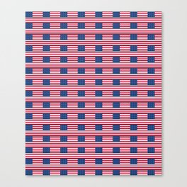 american flag2-Usa,america,united states,us,stars and strips,patriotic,patriot,star spangled banner Canvas Print