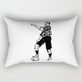 Football Soccer Rectangular Pillow