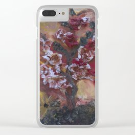 Chastisement of Our Peace Clear iPhone Case