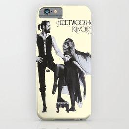 Fleet-wood Mac Rumours Poster iPhone Case
