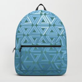 Glacial Air Geometric Backpack