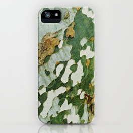 Green Bark iPhone Case