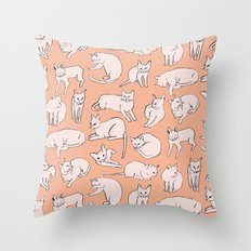 Picasso Cats Throw Pillow