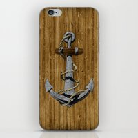 anchor iPhone & iPod Skins featuring Anchor by MacDonald Creative Studios