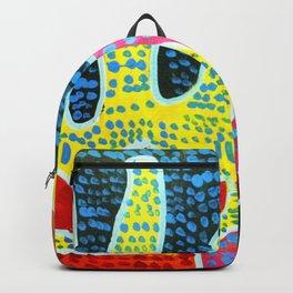 Aboriginal Art - Hand of Faith Backpack