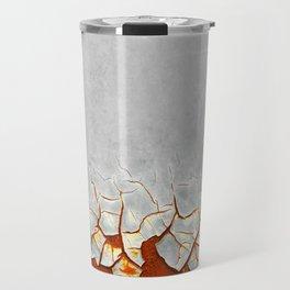 Rust and Grey Travel Mug